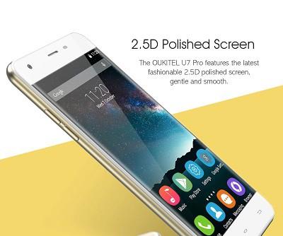 màn hình oukitel u7 pro