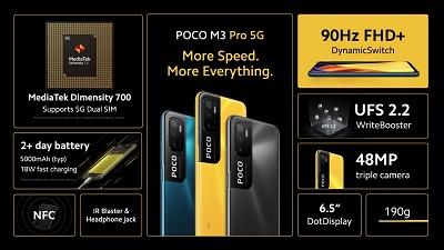 Xiaomi Poco M3 Pro 5G vừa được ra mắt