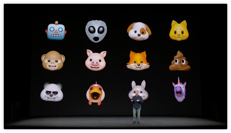 Animoji trên iphone X