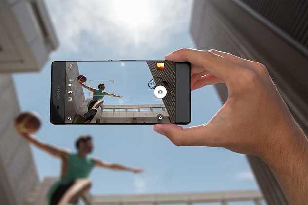 Camera Sony Xperia X Performance