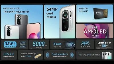 Xiaomi Redmi Note 10S: phiên bản nâng cấp của Redmi Note 10