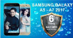 Samsung galaxy A5 a7 2017 nhận ngay gói bảo hiểm 6 tháng