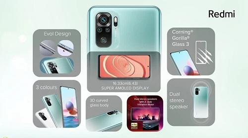 Xiaomi Redmi Note 10 giá thành rẻ, hiệu năng cao