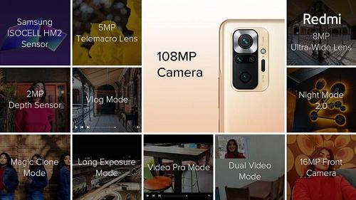 Xiaomi Redmi Note 10 Pro và Xiaomi Redmi Note 10 Pro Max