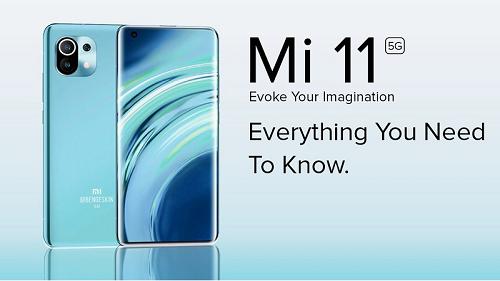 Điện thoại Xiaomi Mi 11