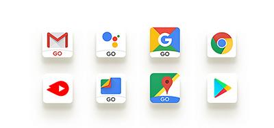 Loạt ứng dụng mới được làm riêng dành cho Android Go.