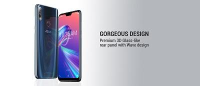 Thiết kế bắt mắt của Asus Zenfone Max Pro M2