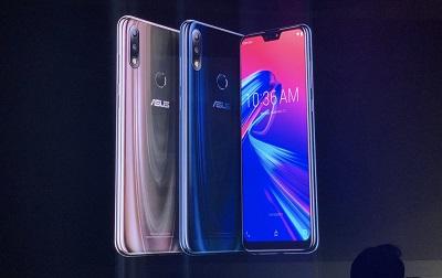 2 màu sắc : Blue, Titanium mang đến sự nổi bật cho Asus Zenfone Max Pro M2