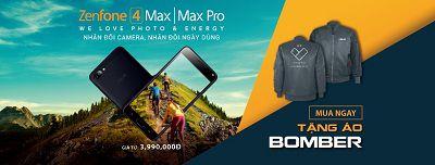 Điện thoại Asus Zenfone 4 Max với nhiều ưu đãi trong ngày ra mắt