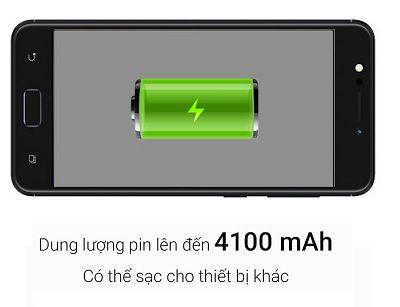 Với dung lượng pin cực khủng của Zenfone 4 Max