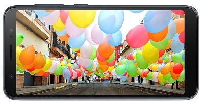 Màn hình hiển thị sắc nét, góc nhìn rộng của Asus Zenfone Live L1