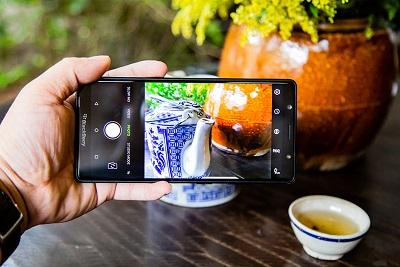Camera chuyên nghiệp của điện thoại BlackBerry Evolve