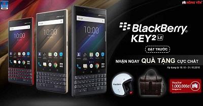 Điện thoại BlackBerry KEY2 LE