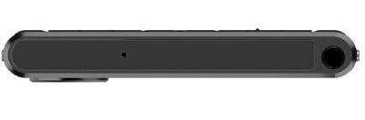 Cạnh trên của KeyOne Black Edition là 1 jack cắm 3.5mm và 1 mic thu âm
