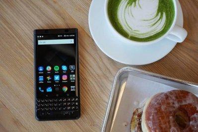 BlackBerry KeyOne Black Edition bàn phím cảm ứng