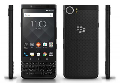 BlackBerry KeyOne Black Edition màu sắc đen tổng thể cho máy sang trọng hơn