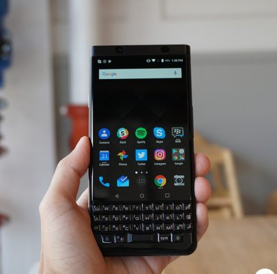 BlackBerry KeyOne Black Edition cho 1 màn hình hiển thị tốt