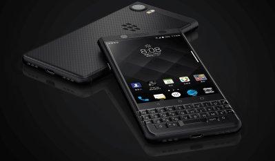 BlackBerry KeyOne Black Edition được tích hợp 1 bàn phím QWERTY cảm ứng