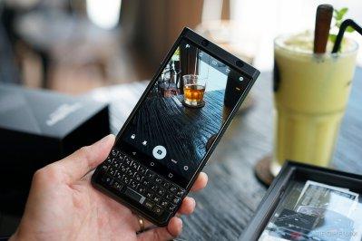 BlackBerry KeyOne Black Edition có 1 camera khá ổn với độ phân giải 12 MP