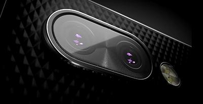 Thiết kế camera kép trên BlackBerry KEY2 rất tinh tế.