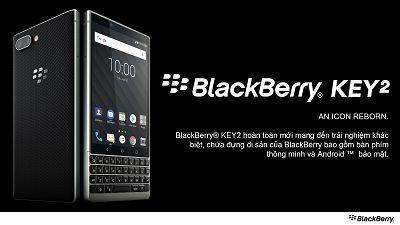 BlackBerry Key2 - Huyền Thoại Trở Lại