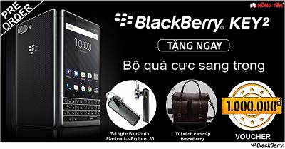 Điện thoại BlackBerry KEY2.