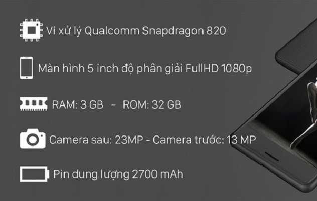 Cấu hình Sony Xperia X Performance