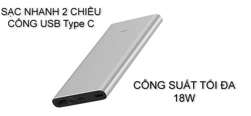 Sạc dự phòng Xiaomi 10000mAh
