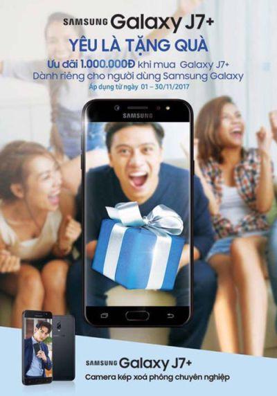 Samsung Galaxy J7 Plus - Yêu Là Tặng Quà