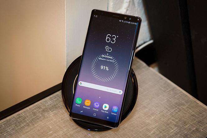 Sạc không dây Samsung galaxy Note 8