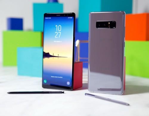 Samsung galaxy Note 8 với thiết kế hoàn mỹ