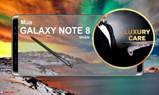 Đặt quyền Samsung Luxury Care cho Samsung Galaxy Note 8