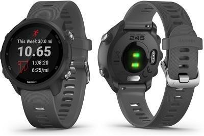 Tổng quan thiết kế của đồng hồ thông minh Garmin Forerunner 245
