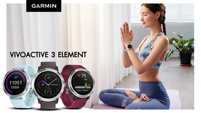 Đồng hồ thông minh Garmin Active 3 Element