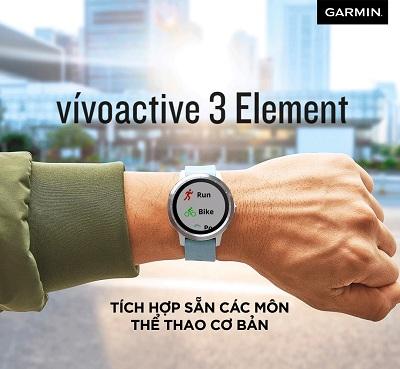 Một số tính năng trên Garmin Active 3 Element