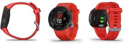 Tổng quan thiết kế chung của đồng hồ thông minh Garmin Forerunner 45