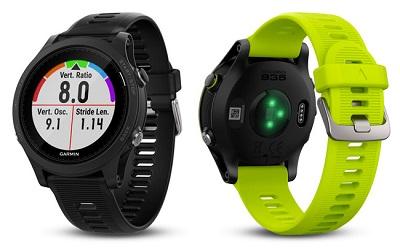 Với 2 màu sắc tương phản trên đồng hồ thông minh Garmin Forerunner 935