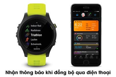 Kết nối với smartphone một cách dễ dàng trên Garmin Forerunner 945