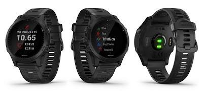 Tổng quan thiết kế chung của đồng hồ thông minh Garmin Forerunner 945