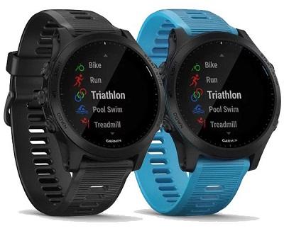 Với 2 màu sắc cơ bản : Đen và Xanh trên đồng hồ thông minh Garmin Forerunner 945