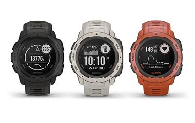 Đồng hồ thông minh Garmin Instinct ra mắt với 3 màu sắc khác nhau
