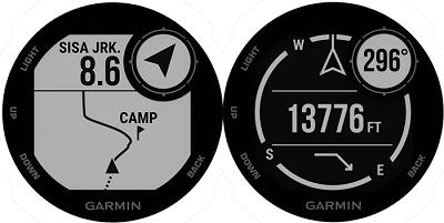 Tính năng định vị GPS trên đồng hồ thông minh Garmin Instinct