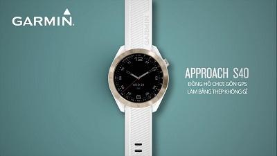 Đồng hồ thông minh Garmin Approach S40