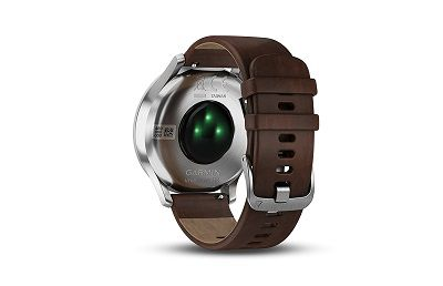 Cảm biến Garmin Elevate™ trong đồng hồ Garmin Vivomove HR Premium