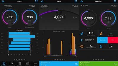 Vòng đeo tay thông minh Garmin Vivosmart 4