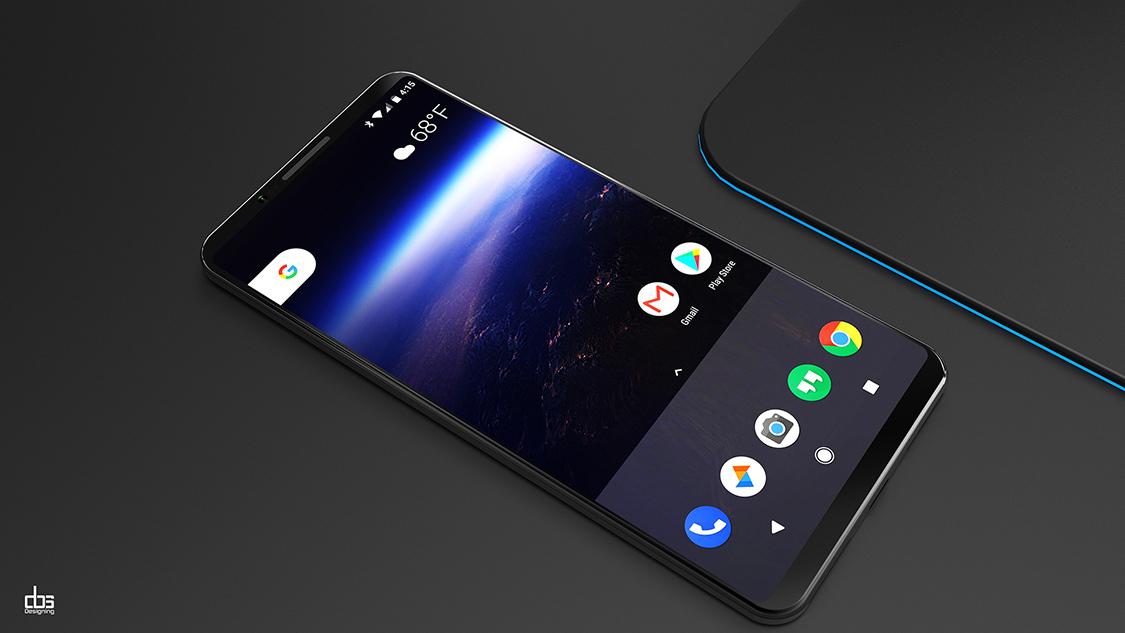 Cảm Ứng Cạnh Viền Trên Google Pixel 2