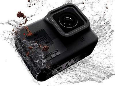 Tính năng chống nước của camera hành trình Gopro Hero 8 Black