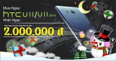 Mua HTC U11 Plus Nhận Ngay Voucher giảm giá 2.000.000 VNĐ