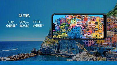 Màn hình với tỉ lệ 19:9 của Huawei Nova 3E