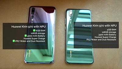 Hình ảnh chi tiết về cấu hình 2 sản phẩm mới được ra mắt của Huawei.